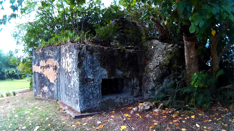 Old Bunker Guam WWII