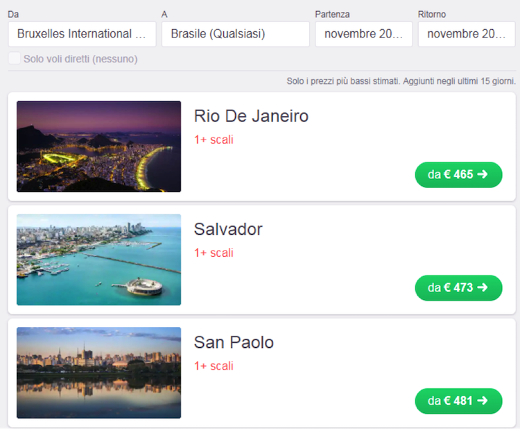 sites de voos mais barato