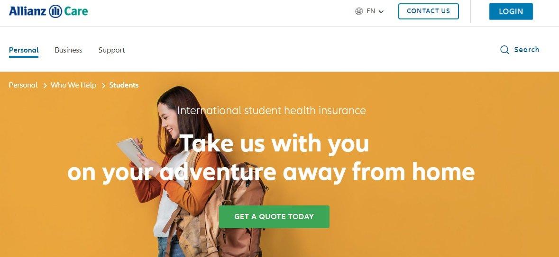 allianz care seguro internacional para estudantes